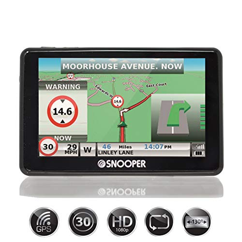 Snooper Truck Mate SC5900 DVR G2 Truck, Lorry and HGV Navigation System with Dash Cam