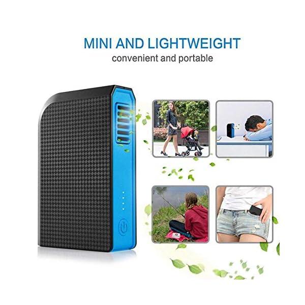 xwwnzdq-Ventilador-Personal-pequeo-con-6000mAh-Power-Bank-Mini-Ventilador-de-Escritorio-USB-porttil-con-Cargador-porttil-Mejor-Uso-en-la-Oficina-de-la-Escuela-de-Viajes-120x80x30mm
