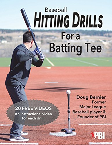 Baseball Hitting Drills for a Batting Tee: Practice Drills for Baseball, Book 1 (Edition 2)