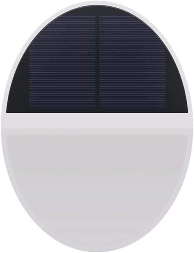 Uonlytech 48 LEDs Ranking integrated 1st place Solar Wall Lamp Li Max 87% OFF Waterproof Deck Lights Step