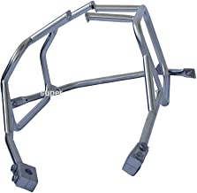 Motorcycle Panniers Rack, MOMOPARTS Saddlebags Racks for BMW F800GS, F700GS, and F650GS Twin Cylinder, Pair Set (Silver pannier rack)