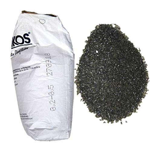Lordsworld - Asilikos - 25 Kilogrammes 0,2-0,5Mm ASILIKOS sable Abrasifs pour Sablage - Abrasif sable pour décaper - Cuivre Laitier - 25 Kilogrammes - Asilikos-02-05