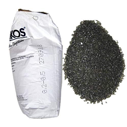 Lordsworld - Asilikos - 25 kilogramos 0,2-0,5Mm ASILIKOS arena abrasiva para chorro de arena - arena abrasiva para pelar - Escoria de cobre - 25 kilogramos - Asilikos-02-05