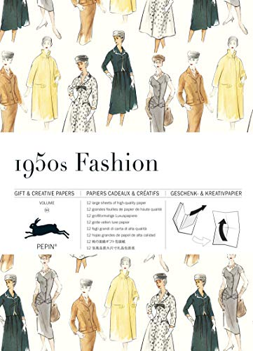 1950s Fashion: Gift & Creative Paper Book Vol. 94 (Gift & creative papers (94))
