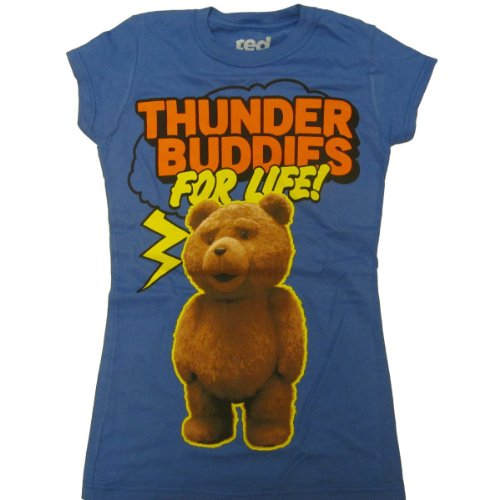 Ted Thunder Buddies For Life Juniors Tee (Small)