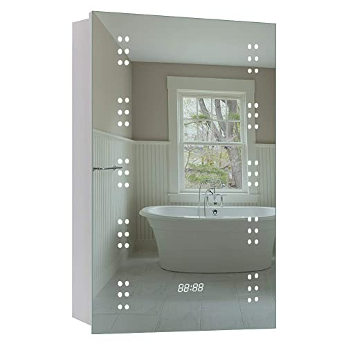 on sale 24353 835d0 Bathroom Mirrors Cabinets with Shaver Socket: Amazon.co.uk