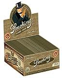 Smoking - Papel para tabaco de liar, largo, orgánico, de cáñamo natural, biológico