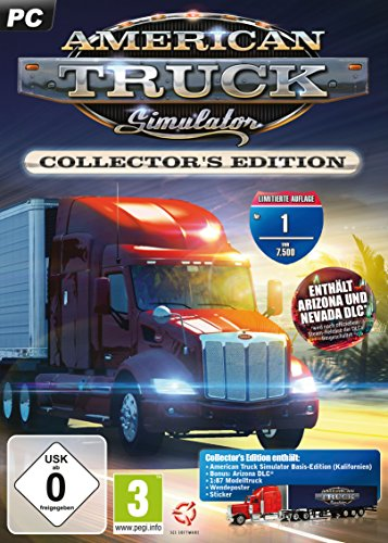 American Truck Simulator - Starter Pack: California - Collector's Edition (Limitierte Auflage)