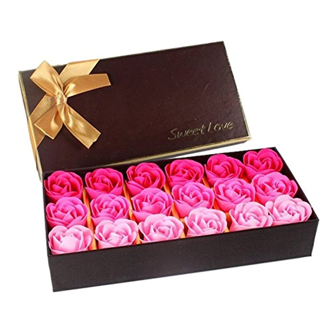 ルーフ請求書素人ローズ フラワーソープ 石鹸 薔薇 プレゼント お祝い ① #333