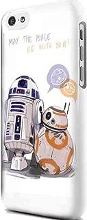 CASE LOCK LTD - Hard Rubber Phone case for Google Pixel 3 XL (2018 Model) - SW Darth Vader Storm Trooper Han Solo Yoda R2D2 Jedi Millenium Falcon Botanic Force Awaekens. Ships from Florida -Style 5