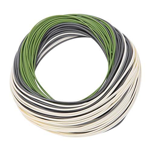Línea de pesca trenzada, línea de pesca 100% nueva, material de nailon, revestimiento de PVC(DT6F)