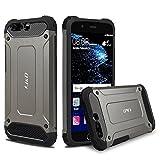 J&D Case Compatible for Huawei P10 Plus (5.5'') Case, Heavy