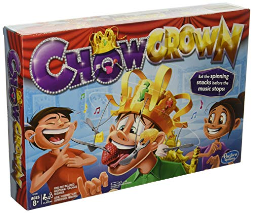 Spinning Chow Crown Game From Hasbro – Kids Snack Food Fun