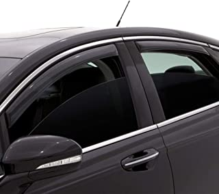 Auto Ventshade 194758 In-Channel Ventvisor Side Window Deflector, 4-Piece Set for 2016-2018 Kia Sorento