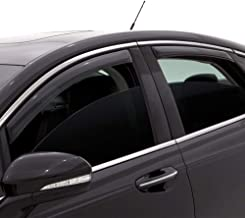 Auto Ventshade 194997 In-Channel Ventvisor Side Window Deflector, 4-Piece Set for 2015-2018 Chrysler 200