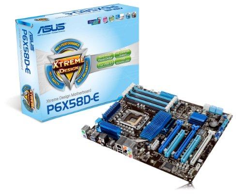 ASUS P6X58D-E Mainboard Sockel 1366 Intel X58 DDR3 Speicher USB 3.0 SATA 6Gb/s ATX