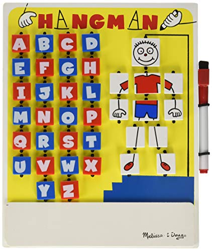 Melissa & Doug Hangman | Games | Travel Games | 6+ | Gift for Boy or Girl