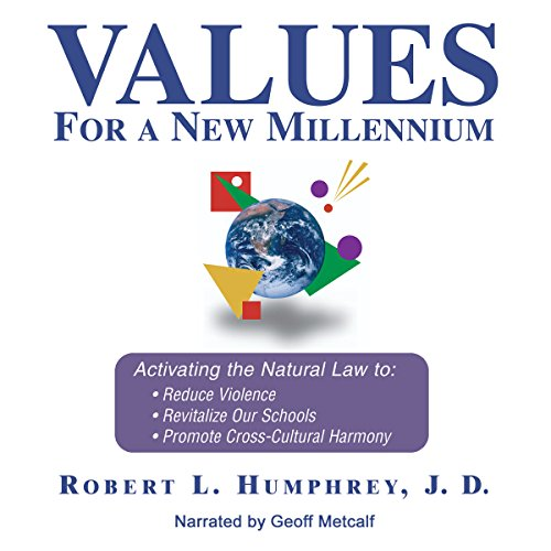Values for a New Millennium audiobook cover art