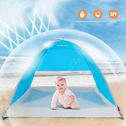Sun Shade Shelter f/ür Kleinkinder 0-3 Jahre Glymnis Baby Strandmuschel Strandzelt Pop-up Baby Strand Zelt mit trennbarer Pool UV-Schutz UPF 50