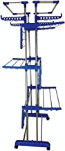 ANIREN - Heavy Duty Stainless Steel Jumbo Cloth Drying Stand - Pure Stainless Steel