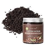 ARTIFUN Exfoliantes para Café Exfoliación Eliminar venas Varicosas Celulitis Estrías Crema Exfoliante para Cuerpo/Cara 250 ml