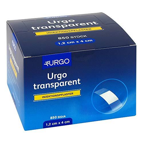 URGO TRANSPARENT Injektionspflaster 1,2x4 cm 850 St