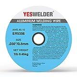 YESWELDER Magnesium Aluminum Welding Wire ER5356 .030-Diameter, 1-Pound Spool