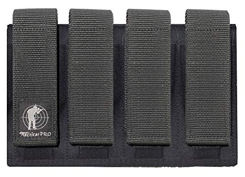 Tactical Pro Sports Quad Magazine Pouch for 9mm 40 & 45