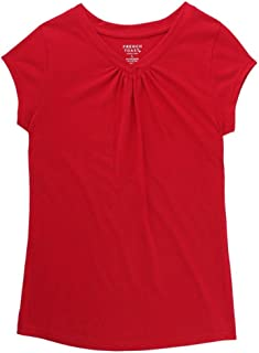Girls' Short Sleeve V-Neck T-Shirt Tee