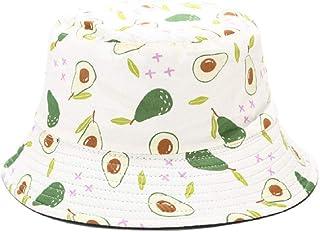 Gorro pescador Sombreros de cubo con patrón de fruta Impresa Sombreros de pescador de Moda Unisex Sombreros de protección ...