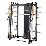 inSPORTline Power Rack Cable Column CC400 | Impressive Smith Machine | 18 Different Positions Versatile Cable Workout | Perfect For Home Workout