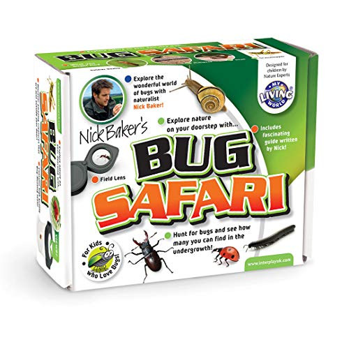 My Living World Safari-Nature Explorer Bug Catcher Set for Kids LW003 Educational Science Kits