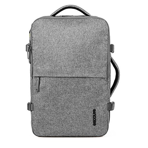Incase CL90020 Grey Backpack Backpacks (Grey, Monotone, 300 D, Zipper, tot 17 inch laptop, iPad, 381 mm)