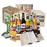 '9 Especialidades de cerveza del Mundo' Colección de las más famosas variedades de cerveza. Una de las mejores ideas de regalo para hombres (Cumpleaños, Navidades, Reyes, Aniversario)