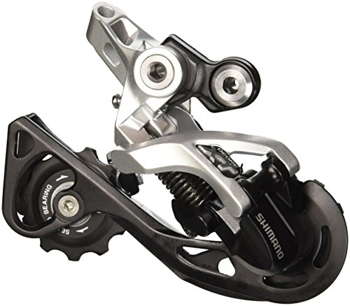 Shimano, Deragliatore Posteriore Deore Xt, Rd-M781 Shadow Colore Argento, GS 10-Vel, Top Normal (Standard), Gabbia Corta, Direct Attachment, Direct Mount Compatibile, Conf. Originale, 2013