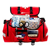 MFASCO - First Aid Kit - Complete Emergency Response Trauma Bag - for Natural Disasters - Red