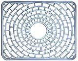 MAYTON Tapete para Tarja Flexible Transparente - Cuida tu vajilla decorando tu casa! (Protector de Fregadero)