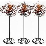 Hetoco Air Plante support Air Plante récipient de base de table Pot de fleurs Pot de fleurs Tillandsia étagère - 3
