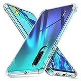 deconext Funda Huawei P30,P30 Carcasa Protectora Delgada y Transparente con Refuerzo en...