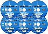 FlightGear Realistic Flight Simulator 2020 Plane & Helicopter Sim | Premium DELUXE Edition Flight Gear Incl 600+ Aircraft | DVD CD Discs for Microsoft Windows 10 8 7 Vista PC & Mac OS X