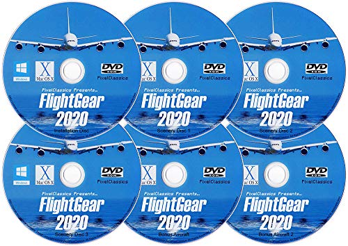 powerful FlightGear Realistic Flight Simulator 2020 Airplane and Helicopter Simulator | Flight Premium Deluxe Edition…