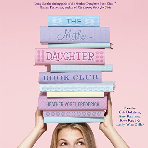 The Mother-Daughter Book Club audiobook cover art