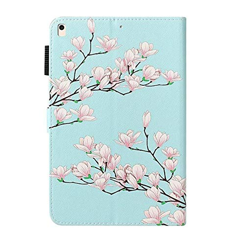 Case For Apple iPad 10.2 / iPad Mini 3/2/1 /Mini 4/5 Wallet / Card Holder / with Stand Full Body Cases Flower PU Leather For iPad Pro 9.7-iPad_mini_1/2/3