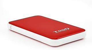 TooQ TQE-2528R - Carcasa para discos duros HDD de 2.5