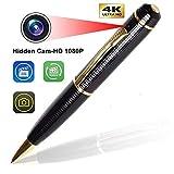 Inovics Spy Camera 4K Resolution Full HD Pen Camera Audio Video Clear Recording