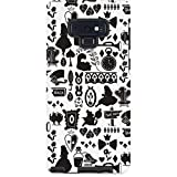 Skinit Pro Phone Case Compatible with Galaxy Note 9 - Officially Licensed Disney Alice in Wonderland Silhouette Design