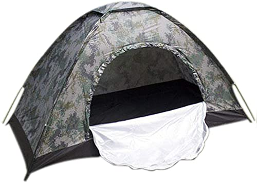 el más barato LiRongPing Camuflaje Digital 1 Persona, Persona, Persona, Carpa de Lluvia para Acampar al Aire Libre, Carpa turística  primera vez respuesta