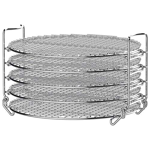 Learn More About Dehydrator Stand Stainless Steel Stand Accessories with Five Stackable Layers Food ...