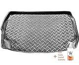 Rezaw-Plast Protector Maletero PVC Compatible con Nissan Leaf (ZE1) (Desde 2017) + Regalo | Alfombrilla Maletero Coche Accesorios | Ideal para Perro Mascotas
