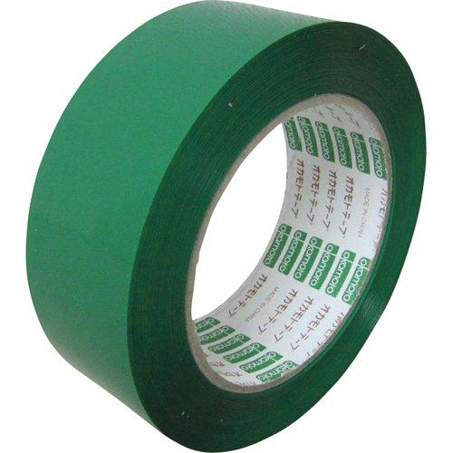 オカモト OPPテープ NO333Cカラー 緑 38ミリ 333C38G
